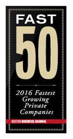 Boston Business Journal 2016 Fast 50