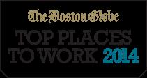 Boston Globe's 2014 Top Places to Work